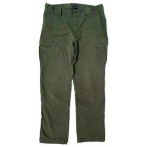 5.11 Tactical Series Mens Stryke Green Pants 34/32